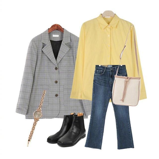 人们都说春天是五颜六色的 黄搭配什么颜色最好看?