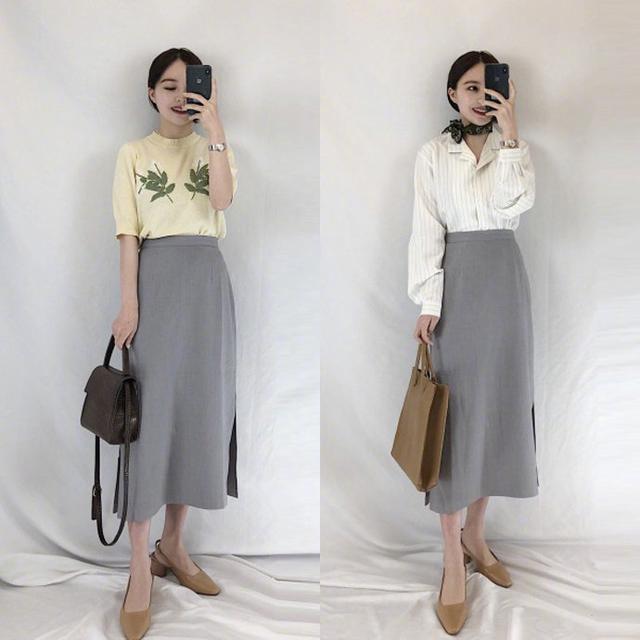 春天还要走气质风格 女生春季穿搭衣服图片