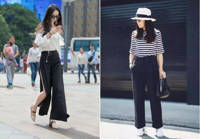 阔腿裤很早就作为一个时尚单品开始流行了 什么颜色阔腿裤好看百搭?
