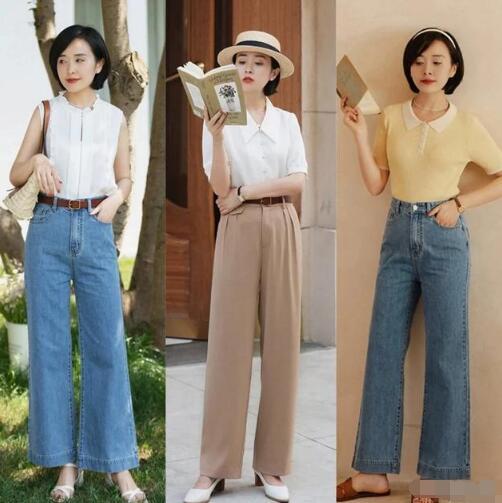 阔腿裤一直以来都是很大众欢迎的单品 阔腿裤小个子能穿吗?