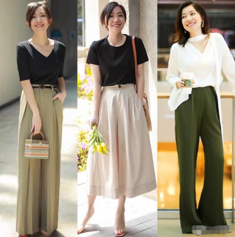 大腿和小腿都比较粗的女生 大腿小腿都粗适合穿什么裙子和裤子?
