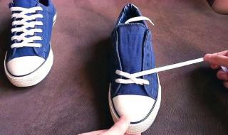 快速系鞋带方法 如何快速系鞋带