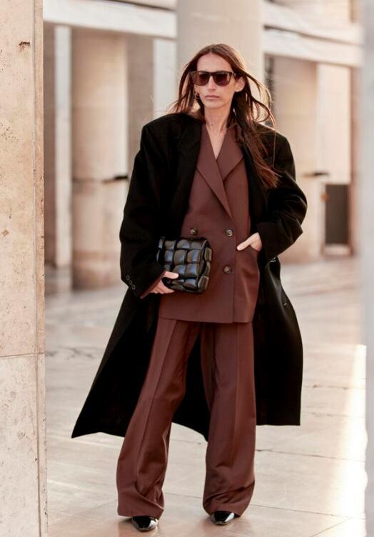 阔腿裤 阔腿裤和大衣怎么搭配比较时尚?