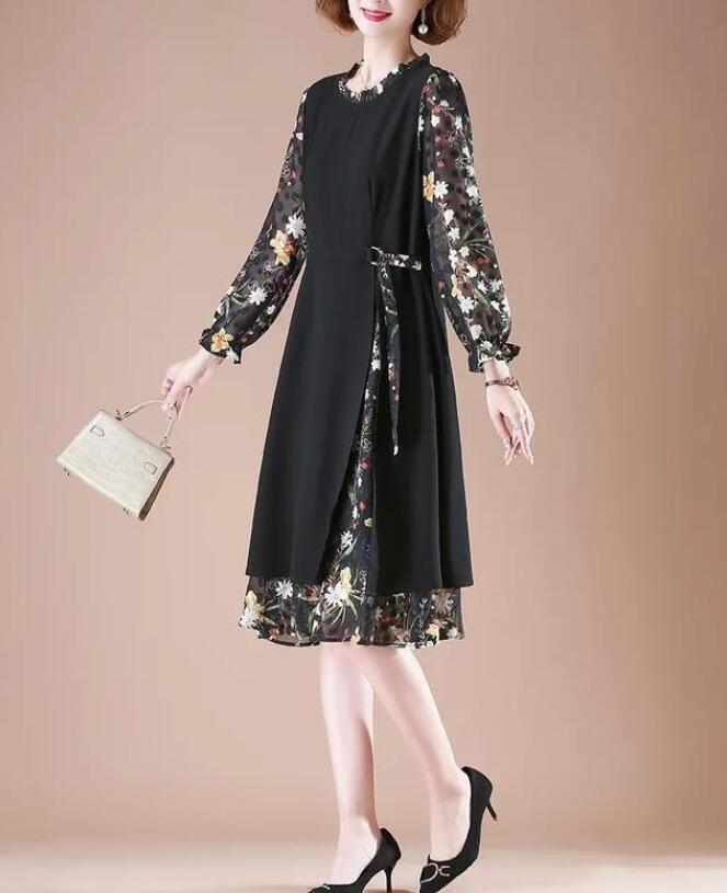 步入中年的女士 50岁的女人穿什么裙子好看又瘦?