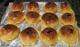 无油烤面包做法和配方 怎么做无油简易面包