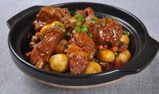 家常红烧土豆排骨最正宗做法 红烧土豆排骨的做法